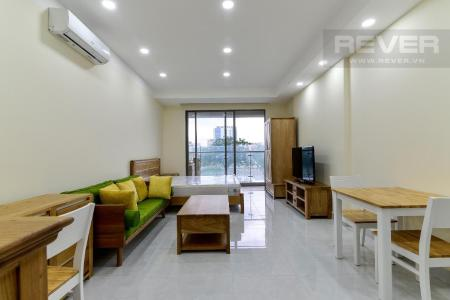 Bán hoặc cho thuê officetel Masteri Millennium, tầng 2, block A, đầy đủ nội thất, view kênh Bến Nghé và Bitexco