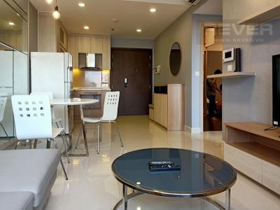 Cho thuê căn hộ Rivergate Residence 2PN, tháp A, đầy đủ nội thất, hướng Đông Nam, view kênh Bến Nghé