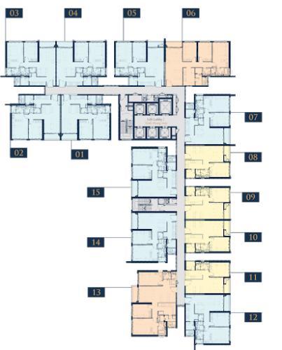 Layout Feliz En Vista Căn hộ Feliz En Vista đầy đủ nội thất, ban công hướng Đông Nam.