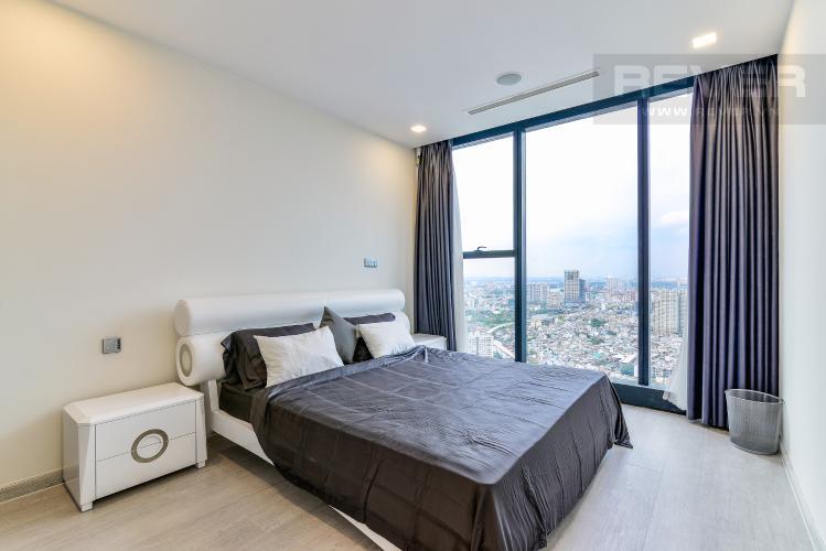 Phòng Ngủ 1 Căn hộ Vinhomes Golden River 2 phòng ngủ tầng cao A3 nội thất đầy đủ