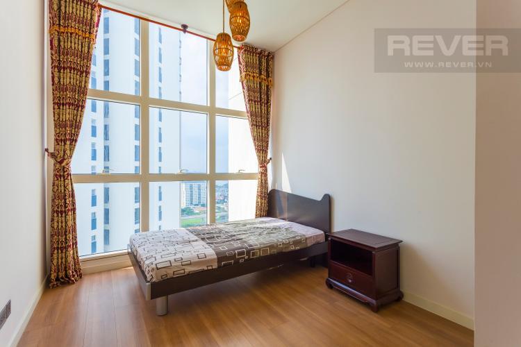 Phòng ngủ 1 Căn hộ Estella tầng cao tháp 3B, thiết kế đẹp, đầy đủ tiện nghi