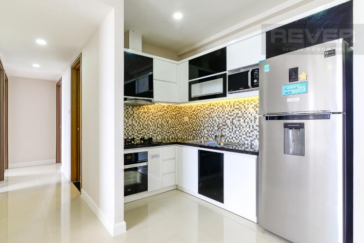 Bếp Cho thuê căn hộ Icon 56 3PN, tầng trung, đầy đủ nội thất, view kênh Bến Nghé