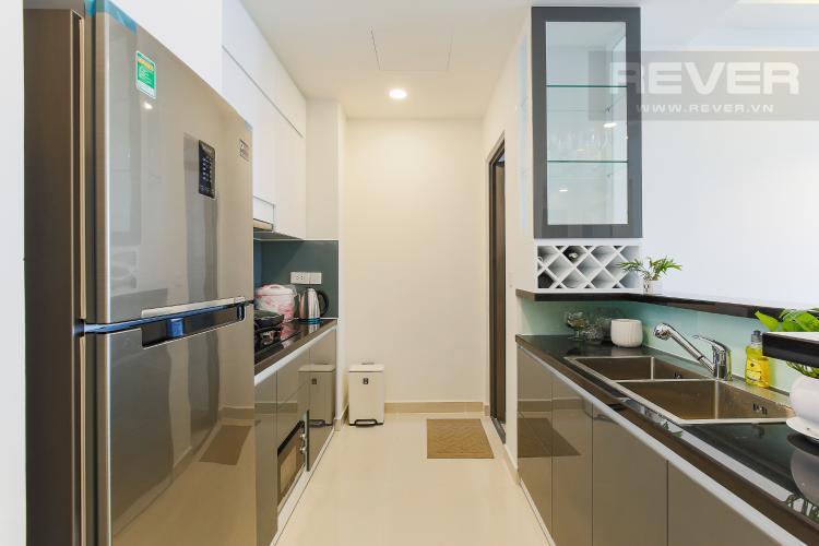 Phòng Bếp Căn hộ The Tresor 2 phòng ngủ tầng trung TS1 đầy đủ nội thất