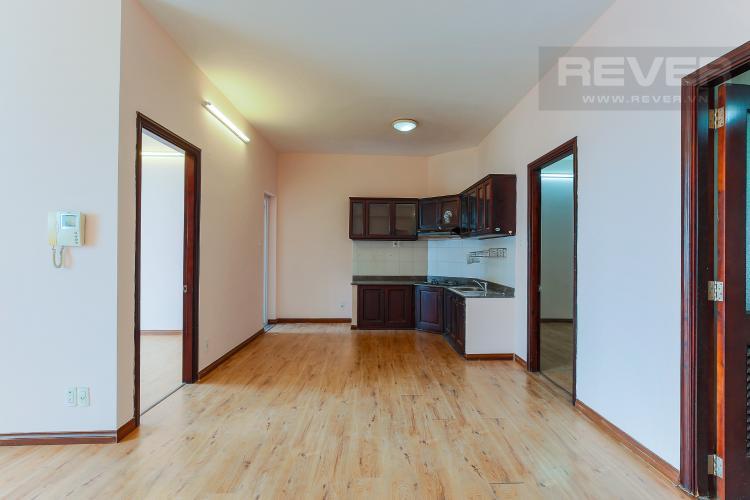 Phòng Bếp Căn hộ Copac Square Quận 4 tầng thấp 2 phòng ngủ nội thất cơ bản