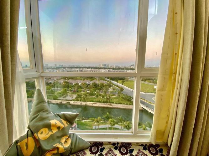View Ehome S Nam Sài Gòn, Bình Chánh Căn hộ Ehome S Nam Sài Gòn tầng trung, bàn giao đầy đủ nội thất.