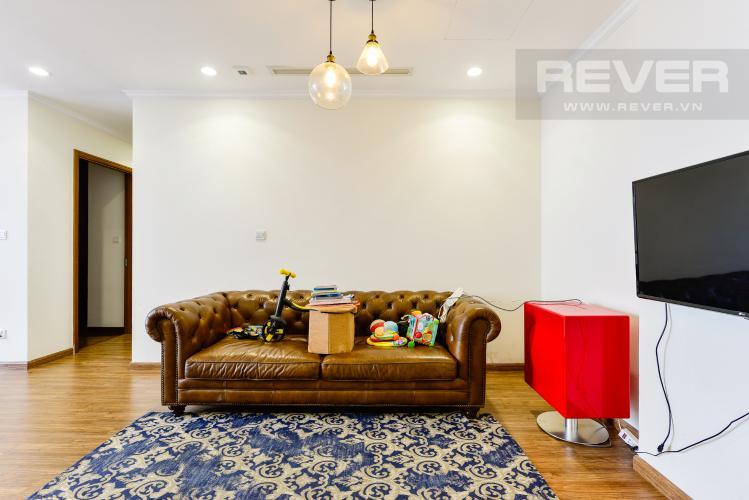 Phòng khách Bán căn hộ Vinhomes Central Park 3PN nội thất đầy đủ, có thể dọn vào ở ngay