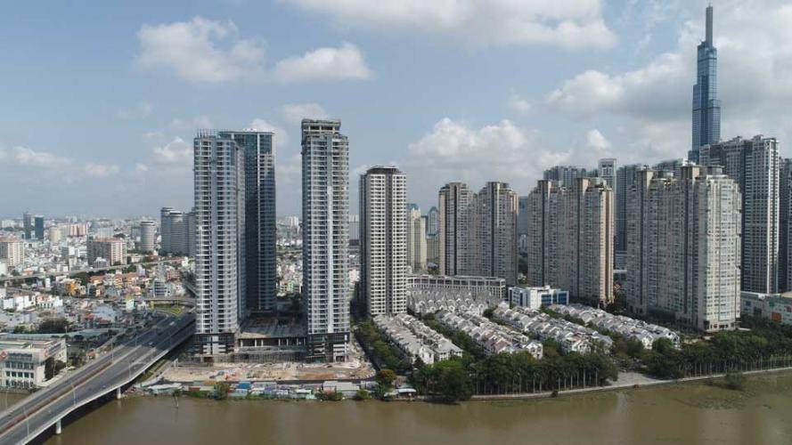 Dự án căn hộ Sunwah Pearl Căn hộ Sunwah Pearl tầng 27 ban công Đông Bắc, nội thất đầy đủ