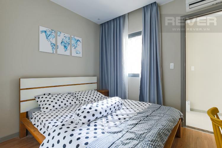 Phòng Ngủ 2 Căn hộ The Gold View 2 phòng ngủ tầng cao A3 hướng Tây Nam