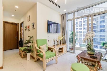 Bán căn hộ Vinhomes Central Park 2PN, tháp Park 1, đầy đủ nội thất, view nội khu