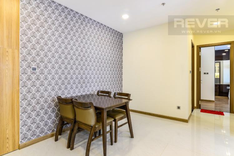 Phòng Ăn Căn hộ Vinhomes Central Park 2 phòng ngủ tầng cao P2 nội thất đầy đủ