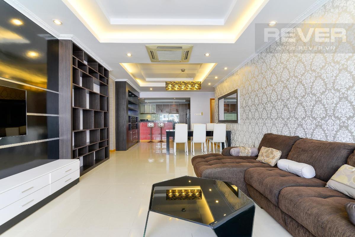 pk3  Bán hoặc cho thuê căn hộ Saigon Pearl 3PN, tháp Ruby 1, đầy đủ nội thất, view sông và nội khu