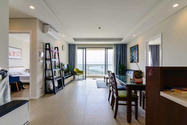 Cho thuê căn hộ Đảo Kim Cương 2PN tầng trung tháp Bora Bora, đầy đủ nội thất, view sông yên tĩnh