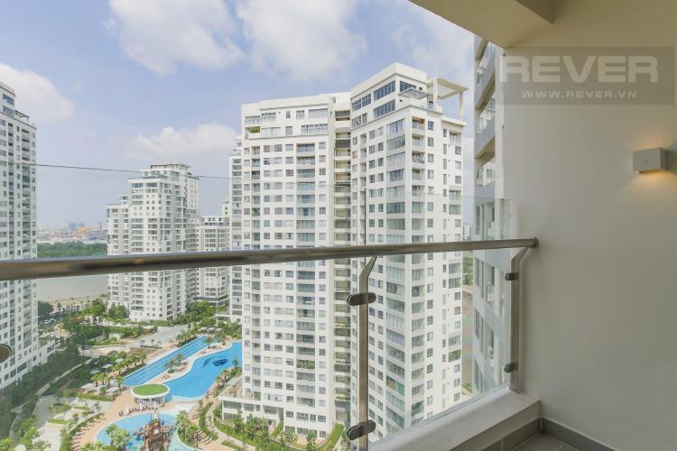 Balcony căn hộ Diamond Island - Đảo Kim Cương Bán căn hộ Diamond Island - Đảo Kim Cương 1PN, tháp Canary, view nội khu và sông Sài Gòn mát mẻ