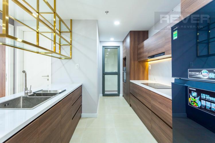 Nhà Bếp Căn hộ Masteri Thảo Điền 3 phòng ngủ tầng cao T4 view sông