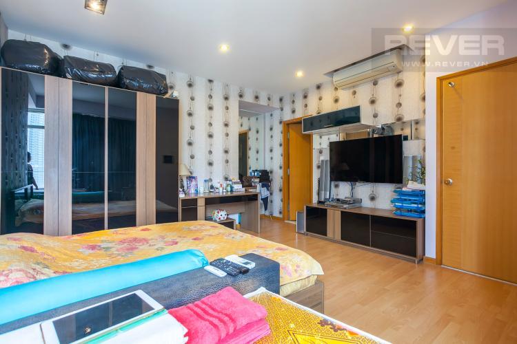 Phòng Ngủ 2 Căn hộ Saigon Pearl 3 phòng ngủ tầng cao Sapphire đầy đủ nội thất