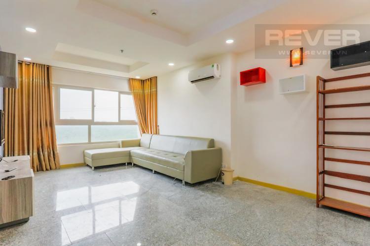 Phòng Khách Căn hộ Dragon City Phú Long 3 phòng ngủ tầng thấp hướng Đông Bắc