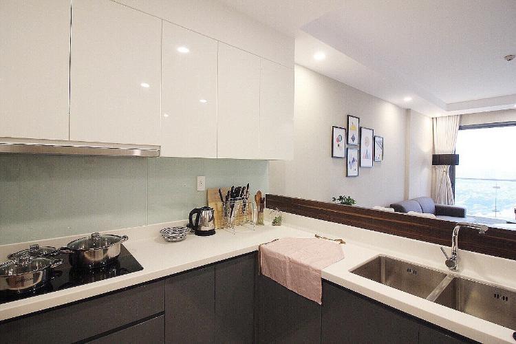 Phòng bếp căn hộ THE GOLD VIEW Bán căn hộ The Gold View 2PN, tầng cao, đầy đủ nội thất, view thành phố