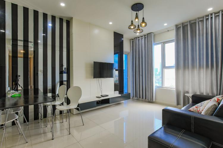 Căn hộ Galaxy 9 tầng trung 3 phòng ngủ đầy đủ nội thất
