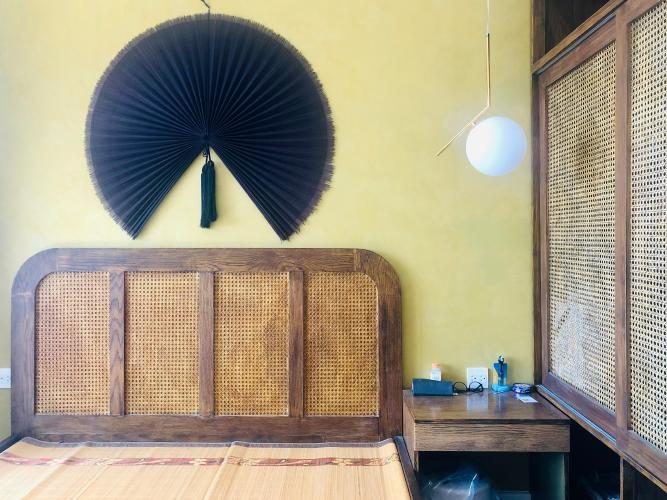 Phòng ngủ Căn hộ The Sun Avenue Căn hộ The Sun Avenue đầy đủ nội thất vintage, thiết kế nổi bật.
