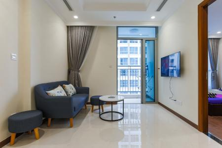Officetel Vinhomes Central Park 1 phòng ngủ tầng cao Landmark 5