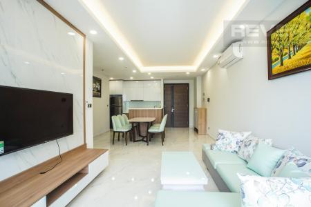 Cho thuê căn hộ Phú Mỹ Hưng Midtown 2PN, đầy đủ nội thất, diện tích 89m2, view sông và công viên xanh mát