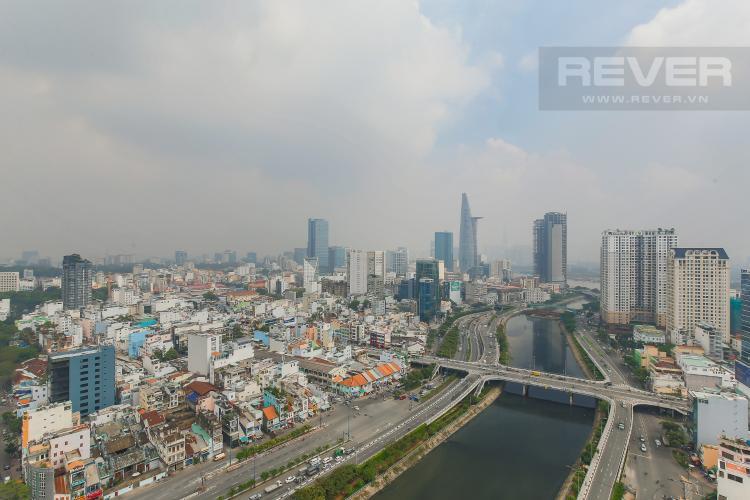 View Căn hộ Masteri Millennium tầng cao, view sông, 2PN
