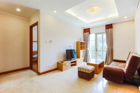 Căn hộ Saigon Pavillon 1 phòng ngủ tầng thấp nội thất đầy đủ