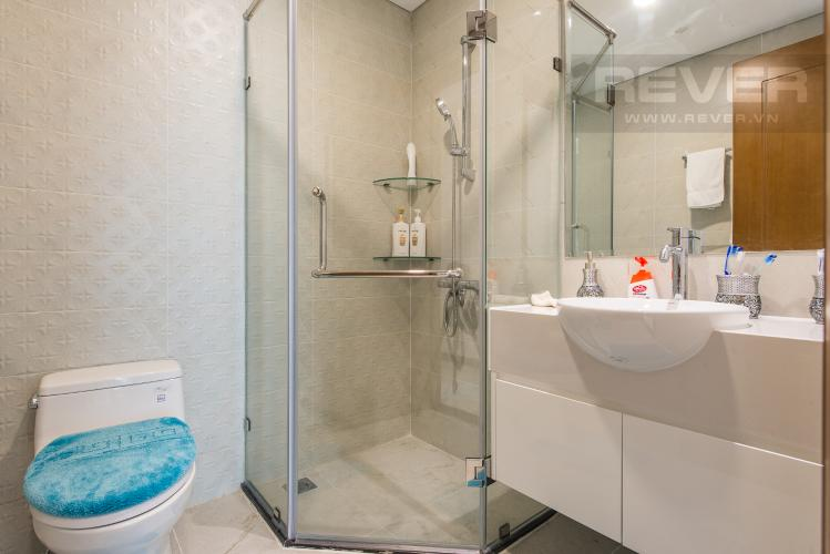 Phòng tắm 2 Căn góc Vinhomes Central Park 3 phòng ngủ tầng cao L6 hướng Tây Bắc