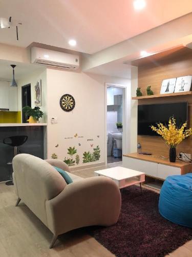 Căn hộ Masteri Thảo Điền view nội khu yên tĩnh, 2 phòng ngủ.