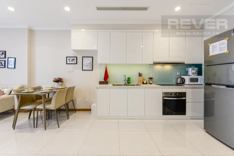 Bếp Căn hộ Vinhomes Central Park 2 phòng ngủ tầng cao L3 đầy đủ nội thất
