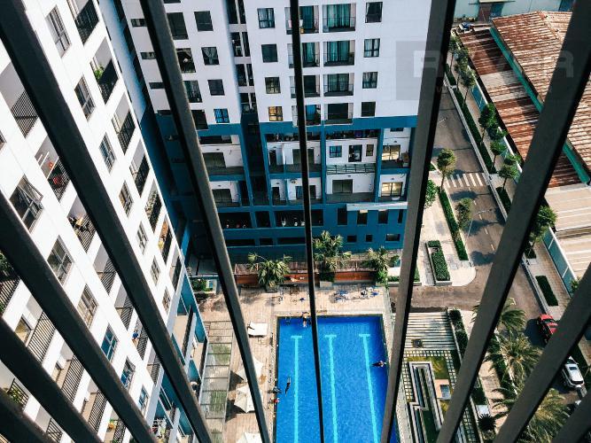 View Cho thuê căn hộ M-One Nam Sài Gòn 2PN, tầng trung, đầy đủ nội thất, view hồ bơi nội khu