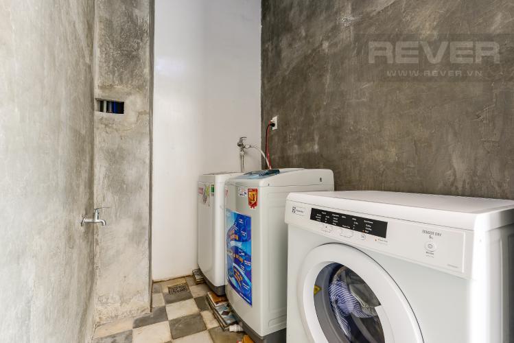 Phòng giặt Căn hộ dịch vụ 1 phòng ngủ đường Phan Văn Hân 28m2