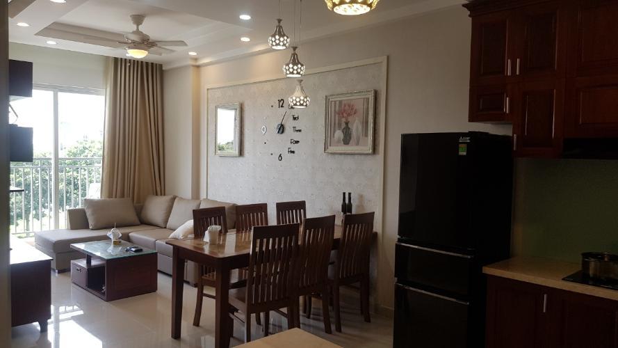 Bán căn hộ tầng thấp Sunrise Riverside đầy đủ nội thất.