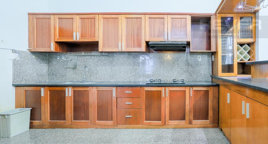 Phòng Bếp Căn hộ Phú Hoàng Anh 4PN có tầng lửng, đầy đủ nội thất