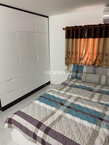 Phòng ngủ nhà phố Quang Trung, Gò Vấp Nhà phố hướng Tây, diện tích 33.8m2, đầy đủ nội thất tiện nghi.
