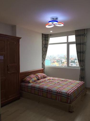 Phòng ngủ Bảy Hiền Tower, Tân Bình Căn hộ Bảy Hiền Tower tầng  trung, view Bitexco tuyệt đẹp.