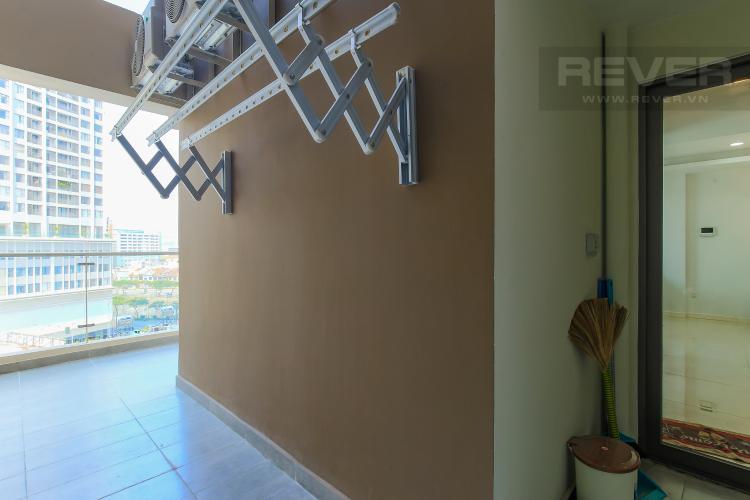 Logia Cho thuê căn hộ Masteri Millennium tầng trung, 2PN, đầy đủ nội thất