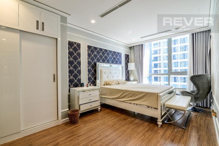 Phòng Ngủ 1 Căn hộ Vinhomes Central Park 3 phòng ngủ tầng trung C1 view sông