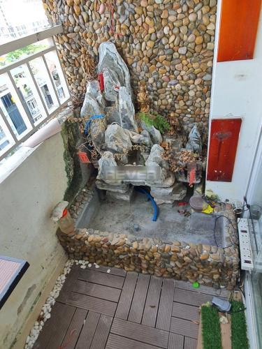 Ban công căn hộ Linh Tây Tower Căn hộ chung cư Linh Tây view thành phố sầm uất, nội thất cơ bản.