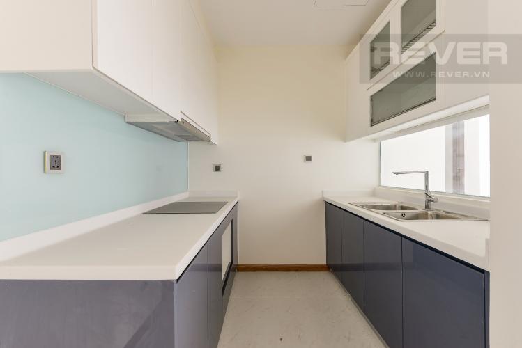 Bếp Căn góc Vinhomes Central Park 3 phòng ngủ tầng trung Park 5