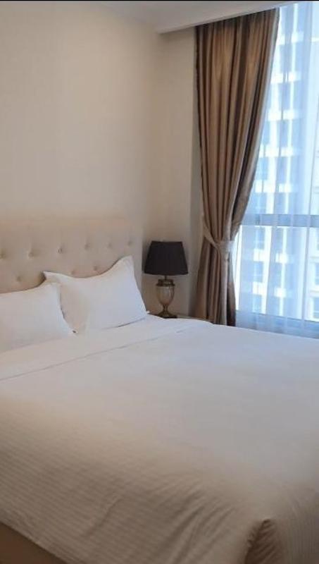 Phòng ngủ , Căn hộ Vinhomes Central Park , Quận Bình Thạnh Căn hộ Vinhomes Central Park tầng 35 thoáng mát, nội thất đầy đủ