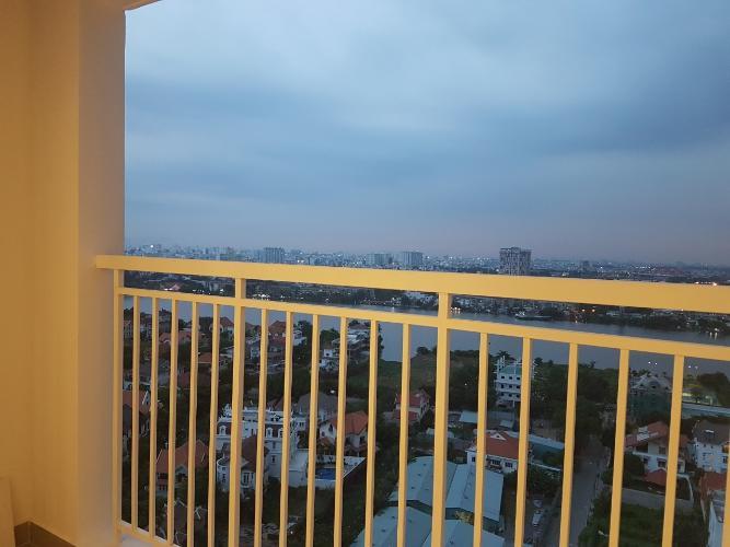 View ban công Tropic Garden, Quận 2 Căn hộ Tropic Garden tầng trung, ban công hướng Tây Bắc.