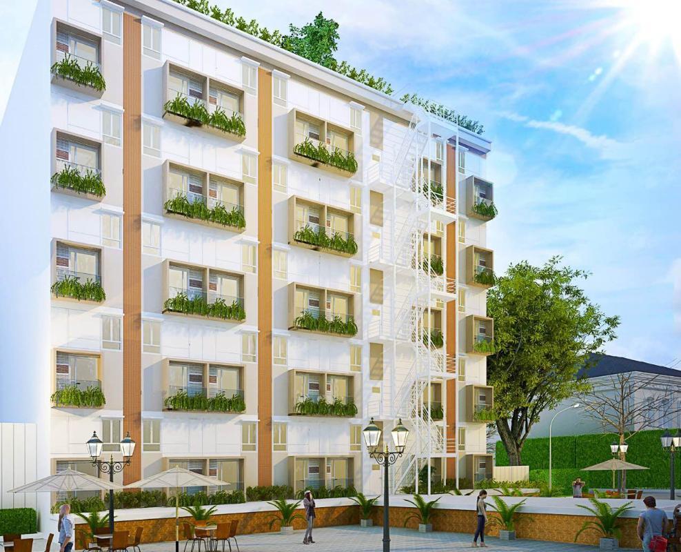 49867ffbf79211cc4883 Bán căn hộ 9X Bình Tân 1PN, tầng 2, diện tích 33m2m, đầy đủ nội thất, hướng cửa Đông Nam