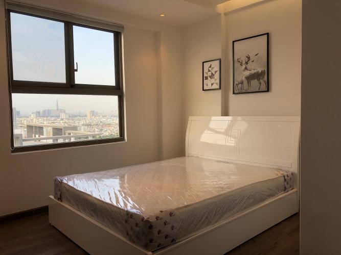 Phòng ngủ Saigon South Residence   Căn hộ Saigon South Residence tầng cao, đầy đủ nội thất sang trọng.