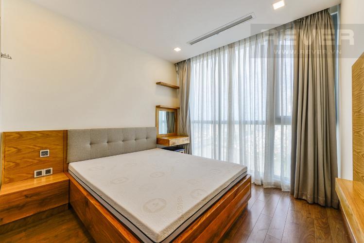 Phòng ngủ 1 Căn hộ Vinhomes Central Park tầng cao tòa Park 6, 2 phòng ngủ, full nội thất