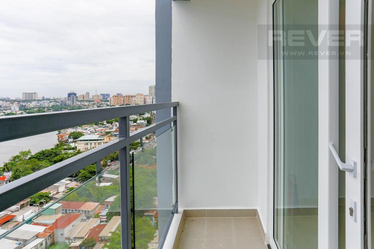 Ban Công Căn hộ Florita 2 phòng ngủ tầng thấp tháp B view sông