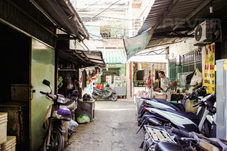 Lối Đi 1 Căn hộ 14 Lô P chung cư Ngô Gia Tự, 2PN, đầy đủ nội thất