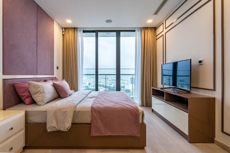 Phòng Ngủ 2 Cho thuê căn hộ Vinhomes Golden River 3PN 2WC, đầy đủ nội thất, view thành phố