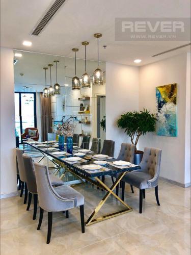 Phòng Ăn Bán căn hộ Vinhomes Golden River 3PN, tầng thấp, đầy đủ nội thất, hướng Đông Bắc đón gió