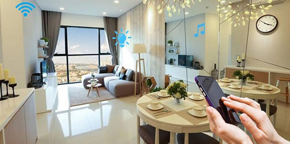 Bán căn hộ Q7 Saigon Riverside 1 phòng ngủ, tầng 18, diện tích 53m2, nội thất cơ bản